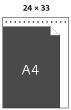 Poměr k formátu A4